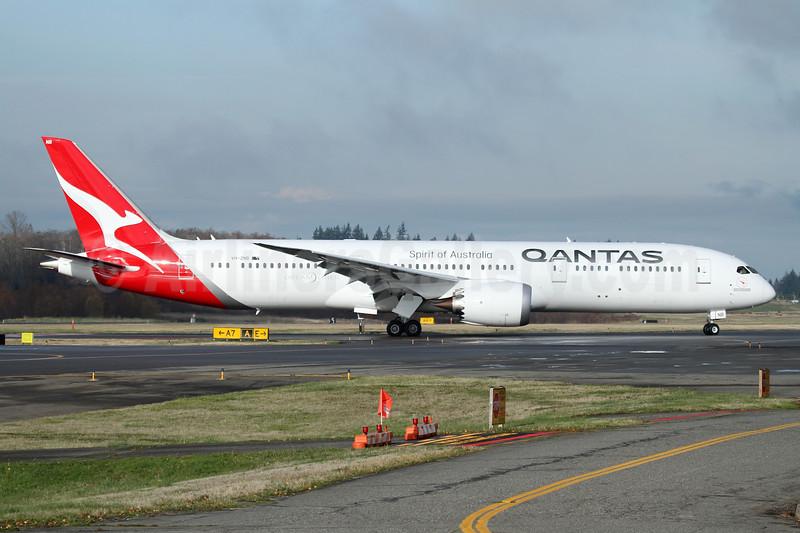 QANTAS Airways - Bruce Drum (AirlinersGallery com)
