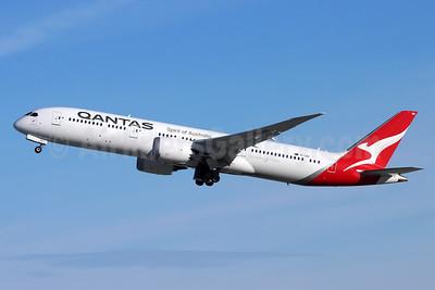 QANTAS Airways Boeing 787-9 Dreamliner VH-ZNB (msn 39039) LAX (Michael B. Ing). Image: 955448.