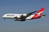QANTAS Airways Airbus A380-842 VH-OQD (msn 026) LAX (Michael B. Ing). Image: 808043.