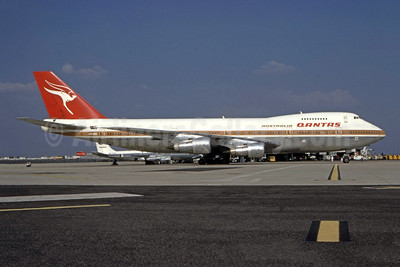 QANTAS Airways Boeing 747-238B VH-EBE (msn 20534) ORY (Jacques Guillem). Image: 944808.