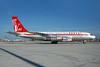 QANTAS Airways (John Travolta) Boeing 707-138B N707JT (VH-EBM) (msn 18740) MIA (Bruce Drum). Image: 100586.