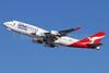 QANTAS Airways Boeing 747-438 ER VH-OEF (msn 32910) (Oneworld) LAX (Michael B. Ing). Image: 935879.