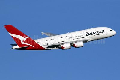 QANTAS Airways Airbus A380-842 VH-OQG (msn 047) LHR (SPA). Image: 936236.