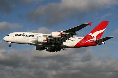 QANTAS Airways Airbus A380-842 VH-OQG (msn 047) LHR (SPA). Image: 936237.