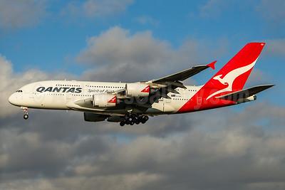 QANTAS Airways Airbus A380-842 VH-OQG (msn 047) LHR (Rob Skinkis). Image: 936235.