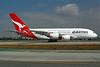 QANTAS Airways Airbus A380-842 VH-OQB (msn 015) LAX. Image: 905748.