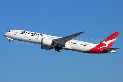 QANTAS Airways Boeing 787-9 Dreamliner VH-ZNE (msn 63391) LAX (Michael B. Ing). Image: 948895.