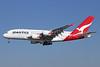QANTAS Airways Airbus A380-842 VH-OQC (msn 022) LAX (Michael B. Ing). Image: 927015.