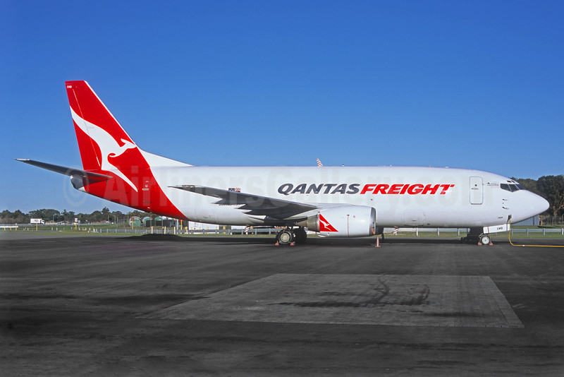 QANTAS Freight-Express Freighters Australia Boeing 737-376 (F) VH-XMB (msn 23478) (Jacques Guillem Collection). Image: 925259.