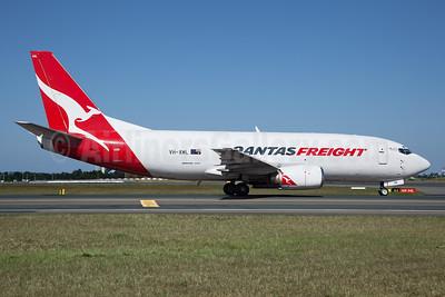 QANTAS Freight-Express Freighters Australia Boeing 737-376 (F) VH-XML (msn 23486) SYD (John Adlard). Image: 940838.