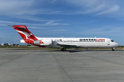 QANTAS Link-Cobham Aviation Services Australia Boeing 717-2BL VH-NXJ (msn 55166) BNE (Ton Jochems). Image: 951804.