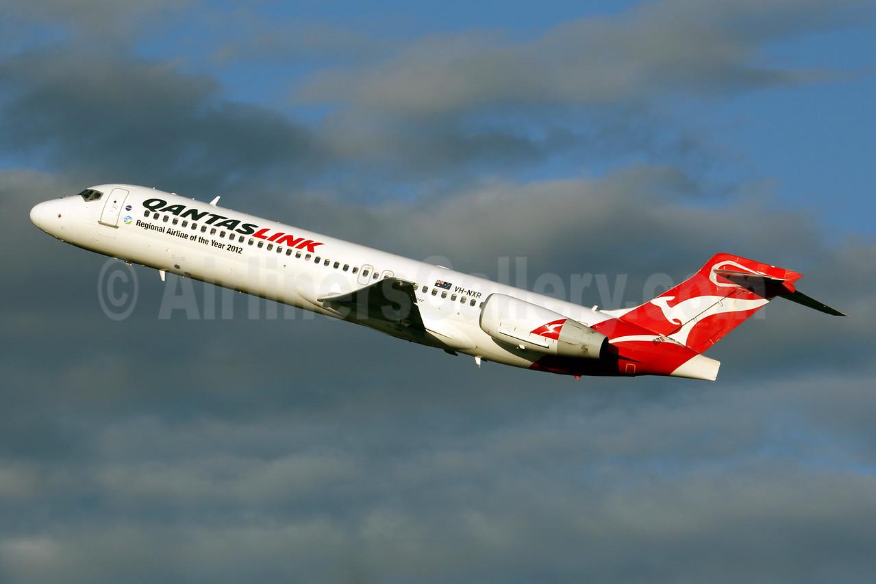 QANTAS Link-Cobham Aviation Services Australia Boeing 717-2BL VH-NXR (msn 55168) (Regional Airline of the Year 2012) BNE (Rob Finlayson). Image: 927180.