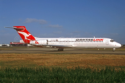 QANTAS Link-Cobham Aviation Services Australia Boeing 717-231 VH-NXN (msn 55095) (Jacques Guillem Collection). Image: 922314.