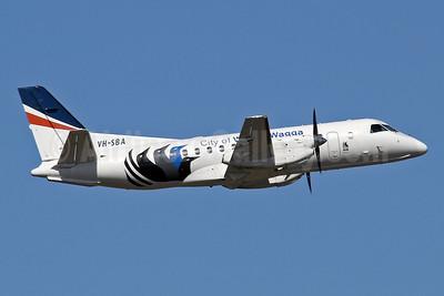 "REX (Regional Express Airlines) SAAB 340B VH-SBA (msn 311) (""City of Wagga Wagga"") SYD (Keith Burton). Image: 952651."
