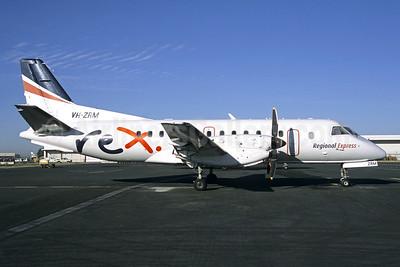 REX (Regional Express Airlines) SAAB 340B VH-ZRM (msn 400) BNE (Pepscl). Image: 952653.