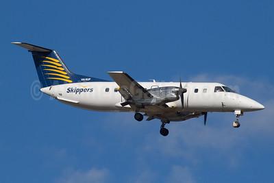 Skippers Aviation Embraer EMB-120 ER Brasilia VH-XUF (msn 120207) PER (Micheil Keegan). Image: 908538.