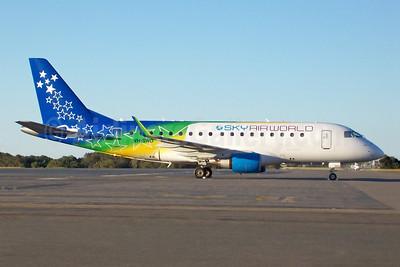 SkyAirWorld Embraer ERJ 170-100LR VH-SWO (msn 17000081) (Solomons colors) BNE (Pepscl). Image: 902590.