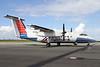 Skytran Airline Bombardier DHC-8-102 VH-QQC (msn 008) BNE (Peter Gates). Image: 905552.