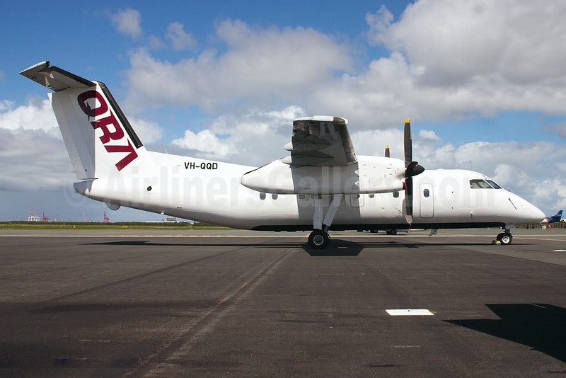 QRA-Skytran Airline Bombardier DHC-8-102 VH-QQD (msn 041) (PDL Toll) BNE (Peter Gates). Image: 920650.
