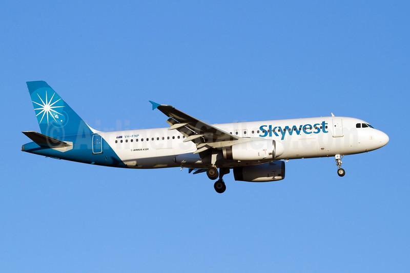 Skywest Airlines (Australia) Airbus A320-231 VH-FNP (msn 429) PER (Micheil Keegan). Image: 907834.