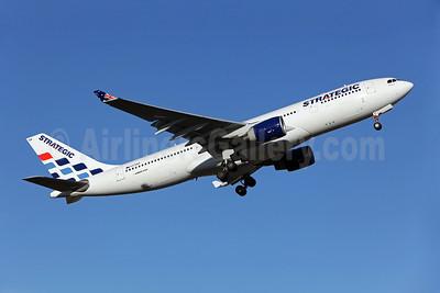 Strategic Airlines (Australia) Airbus A330-223 VH-SSA (msn 324) SYD (John Adlard). Image: 904873.