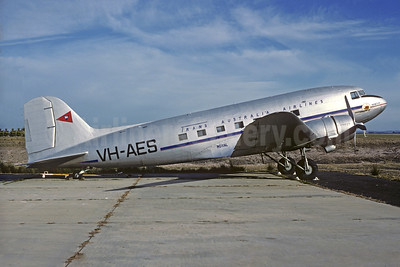Trans Australia Airlines Douglas C-47-DL (DC-3) VH-AES (VH-SBA) (msn 6021) (Christian Volpati Collection). Image: 930591.