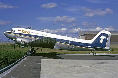 TAA (Trans Australia Airlines) - Airlines of New Guinea Douglas C-47-DL (DC-3) VH-SBA (msn 6021) (Christian Volpati Collection). Image: 930590.