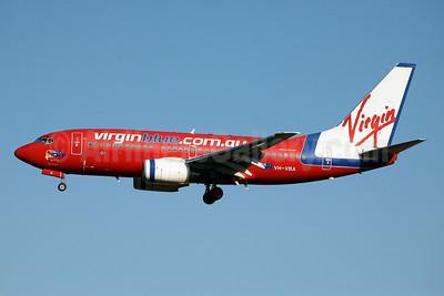 Virgin Blue Airlines (virginblue.com.au) Boeing 737-7Q8 VH-VBA (msn 28238) SYD (John Adlard). Image: 900394.