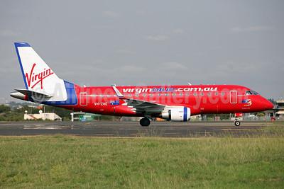 Virgin Blue Airlines (virginblue.com.au) Embraer ERJ 170-100LR VH-ZHE (msn 17000247) SYD (John Adlard). Image: 905932.