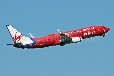 Virgin Blue Airlines (virginblue.com.au) Boeing 737-8FE WL VH-VOL (msn 33759) SYD (Keith Burton). Image: 926027.
