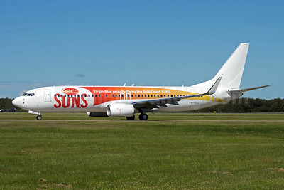 Virgin Blue's Gold Coast Suns special livery