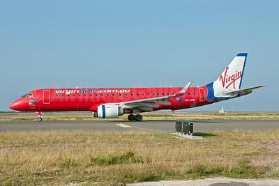 Virgin Blue Airlines (virginblue.com.au) Embraer ERJ 190-100 IGW (ERJ 190AR) VH-ZPK (msn 19000218) HNL (Ivan K. Nishimura). Image: 913523.