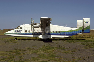 Wings Australia Shorts SD3-30 VH-KNO (msn SH.3061) (Robert N. Smith). Image: 951467.
