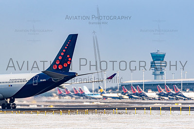 Aviation – Airlines – Brussels Airlines – 0009b | 4000 x 2650px | Free with 9a