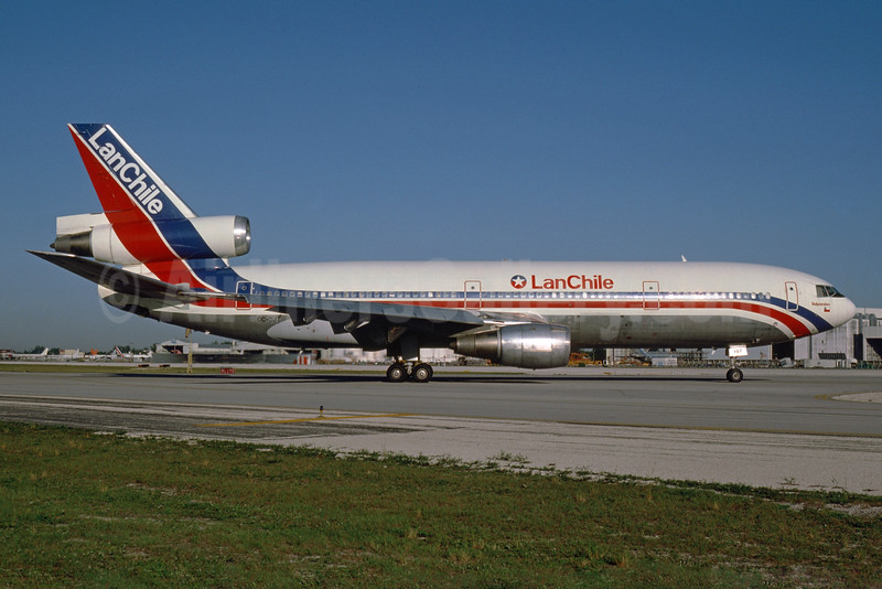 """""""Valparaiso"""", leased from Air New Zealand June 13, 1982"""