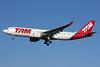 TAM Brasil (TAM Linhas Aereas) Airbus A330-223 PT-MVS (msn 1112) LHR (SPA). Image: 926895.
