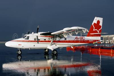 Air BC de Havilland Canada DHC-6-200 Twin Otter C-GKNR (msn 186) YVR (John Kimberley - Rob Rindt Collection). Image: 952210.