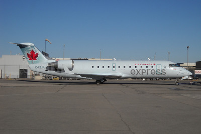 Air Canada Express-Jazz Aviation Bombardier CRJ200 (CL-600-2B19) C-FZJA (msn 7988) YYZ (TMK Photography). Image: 909813.