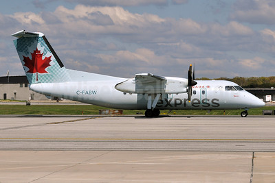 Air Canada Express-Jazz Aviation Bombardier DHC-8-102 Dash 8 C-FABW (msn 097) BWI (Tony Storck). Image: 908283.
