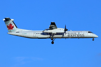 Air Canada Express-Jazz Aviation Bombardier DHC-8-402 (Q400) C-GGNY (msn 4386) SEA (Michael B. Ing). Image: 948217.