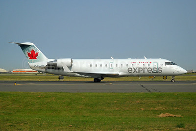 Air Canada Express-Jazz Aviation Bombardier CRJ100 (CL-600-2B19) C-FWRS (msn 7112) YYZ (TMK Photography). Image: 923872.
