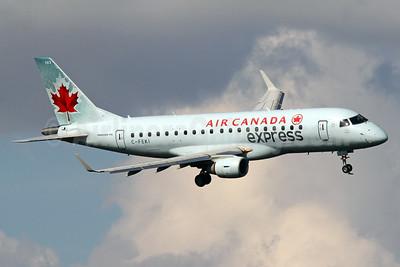 Air Canada Express (Sky Regional Airlines) Embraer ERJ 170-200SU (ERJ 175) C-FEKI (msn 1700103) DCA (Brian McDonough). Image: 913427.