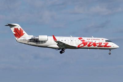 Air Canada Jazz (Jazz Air) Bombardier CRJ200 (CL-600-2B19) C-GKEJ (msn 7269) YYZ (Keith Burton). Image: 920045.
