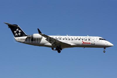 Air Canada Jazz (Jazz Air) Bombardier CRJ200 (CL-600-2B19) C-GQJA (msn 7963) DCA (Brian McDonough). Image: 912614.