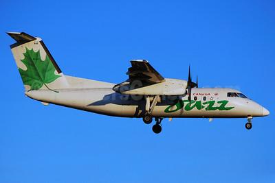 Air Canada Jazz (Jazz Air) Bombardier DHC-8-102 C-FABT (msn 049) YYZ (Reinhard Zinabold). Image: 906371.