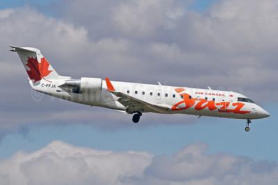 Air Canada Jazz (Jazz Air) Bombardier CRJ200 (CL-600-2B19) C-FFJA (msn 7985) YYZ (Keith Burton). Image: 920044.