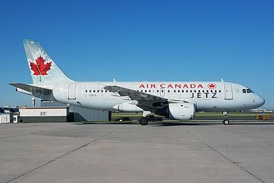 Air Canada Jetz (Air Canada) Airbus A319-114 C-GBIA (msn 817) YYZ (TMK Photography). Image: 938107.