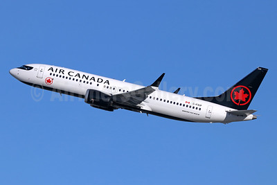 Air Canada Boeing 737-8 MAX 8 C-FSIP (msn 61215) LAX (Michael B. Ing). Image: 945957.