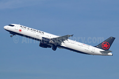Air Canada Airbus A321-211 C-GJWN (msn 1783) LAX (Michael B. Ing). Image: 940780.