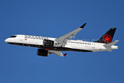 Air Canada Airbus A220-300 (CS300 BD-500-1A11) C-GJXE (msn 55076) YYZ (TMK Photography). Image: 949622.